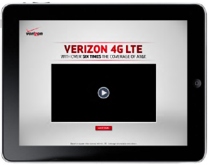 Video Player Mobile Ad Sample