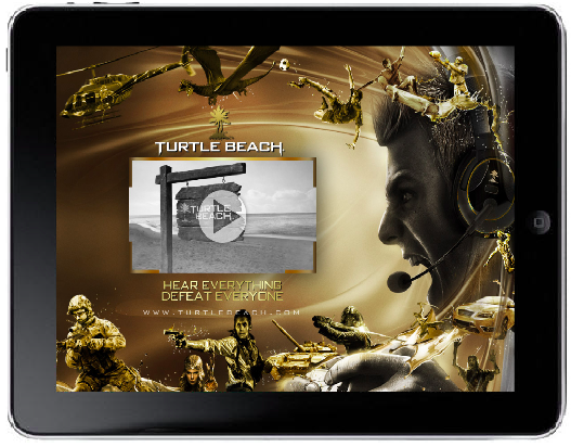 Digital Art w/video Player Mobile Ad Sample