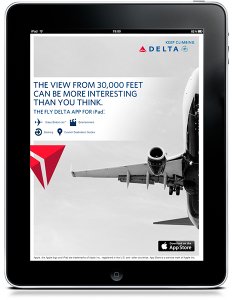 Delta Airline Ad by gtblab.com