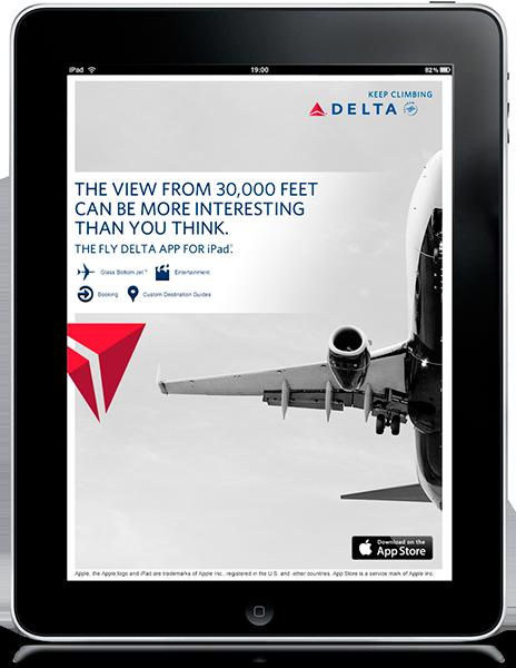 Delta Airline Ad