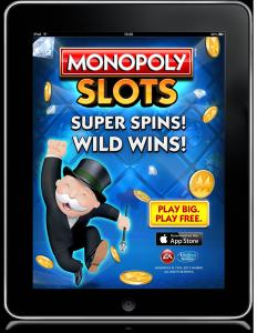 EA Monopoly Slots ad by gtblab.com