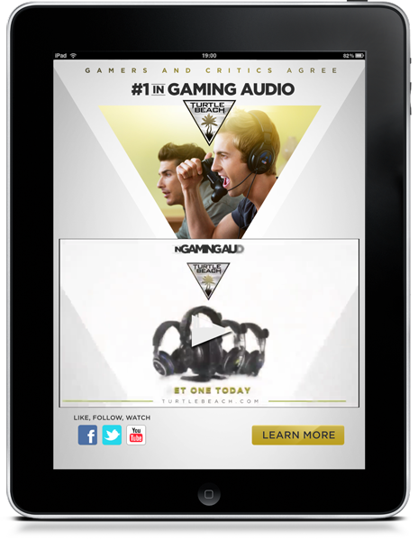 Turtle Beach ad.